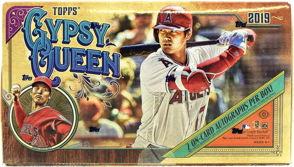 2019 Topps Gypsy Queen Baseball Hobby Box