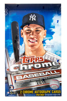 2017 Topps Chrome Baseball Hobby Box