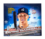 2017 Topps Chrome Baseball Jumbo Hobby Box