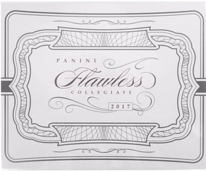 2017 Panini Flawless Collegiate Football Hobby Box