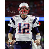 "Tom Brady Autographed 8x10 or 16x20 ""Scream"" Photo- Tristar Authenticated"
