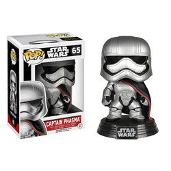 FUNKO POP! STAR WARS 65 - CAPTAIN PHASMA
