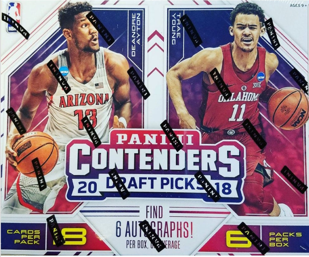2018/19 Panini Contenders Draft Picks Basketball Hobby Box