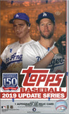 2019 Topps Update Series Hobby Box