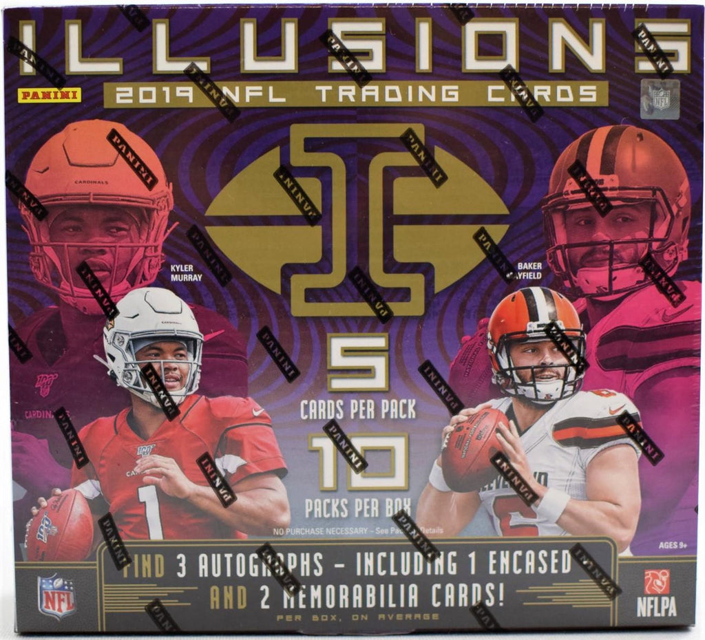 2019 Illusions Football Hobby Box