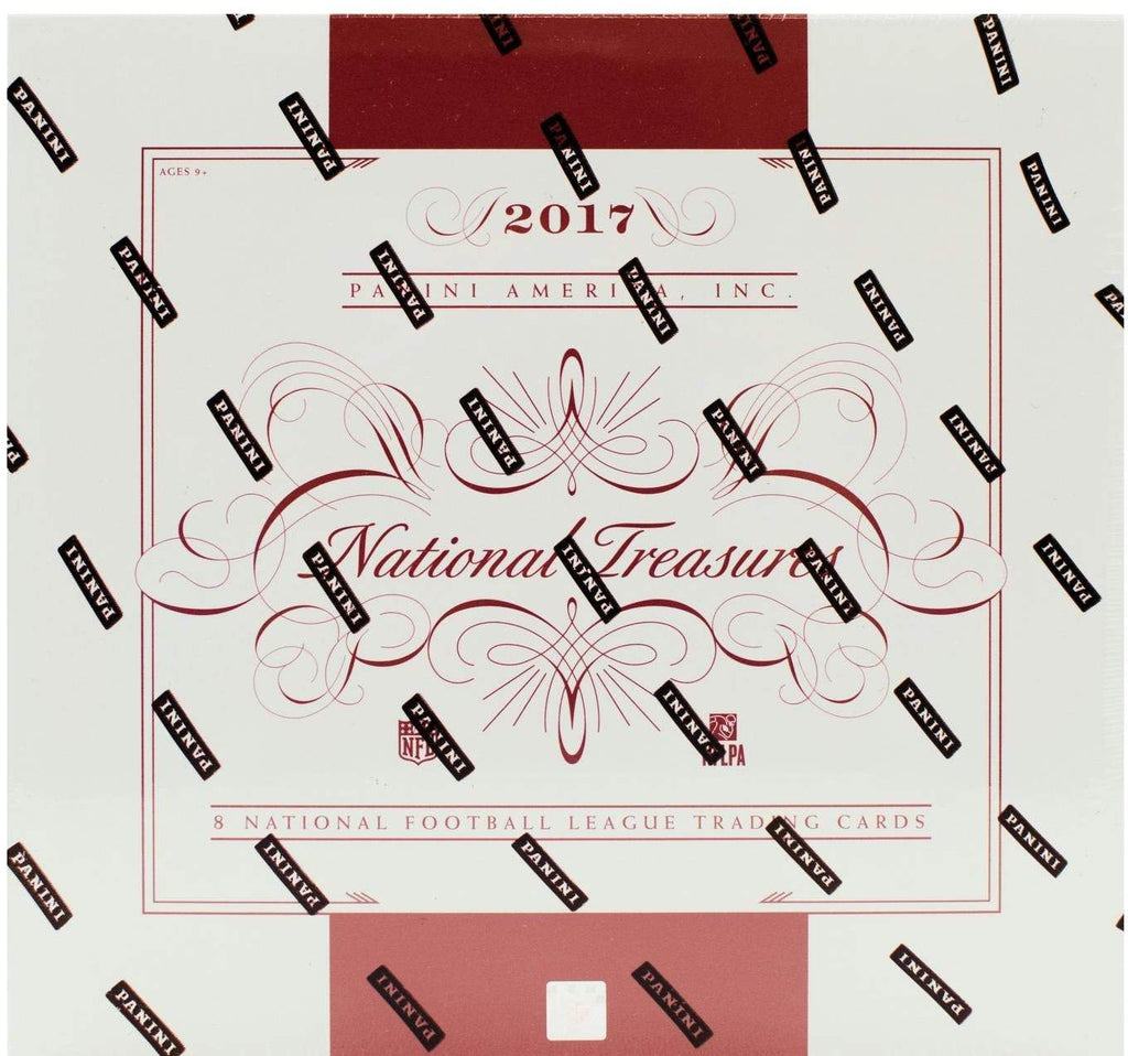 2017 Panini National Treasures Football Hobby Box