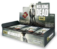 THE WALKING DEAD SEASON 4 PART 1 TRADING CARDS HOBBY BOX