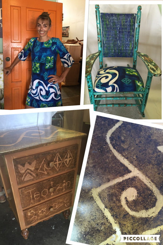 Vintage Hawaiiana Dress Inspires A Dresser