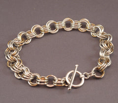 3-in-3 Chain Maille Bracelet