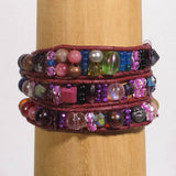 Multi-Wrap Bracelet with Mixed Beads