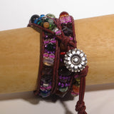Multi Wrap Bracelet with Mixed Beads