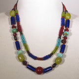 Tribal Necklace with Seed Beads