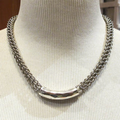 Full Perisan Chain Maille Necklace Chain Mail