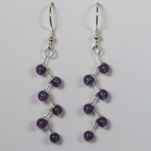 Swarovski Crystal Cascading Vine Earrings