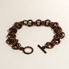 Load image into Gallery viewer, Chain Maille Bracelet in 3-in-3 Weave