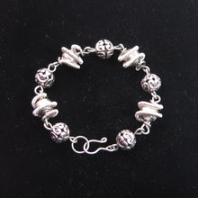 Load image into Gallery viewer, Orbit Bracelet with Pewter Beads