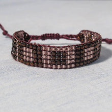 Load image into Gallery viewer, Bead-Woven Bracelet with Adjustable Clasp #2