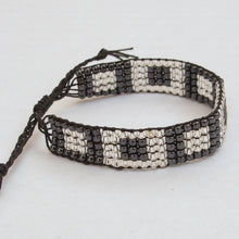 Load image into Gallery viewer, Bead-Woven Bracelet with Adjustable Clasp #4