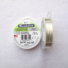 Load image into Gallery viewer, Beadalon Beading Wire/Nylon-Covered Wire (click for colors & sizes)