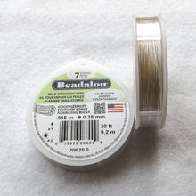 Load image into Gallery viewer, Silver Color (metallic) Beadalon Beading Wire