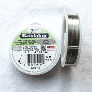 Beadalon Beading Wire/Nylon-Covered Wire (click for colors & sizes)