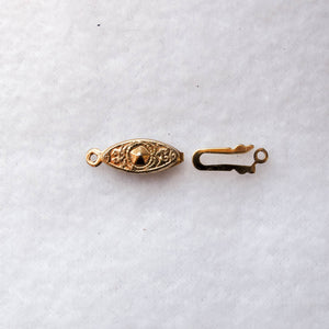 Fish Hook Clasp, 22mm. (click for colors)