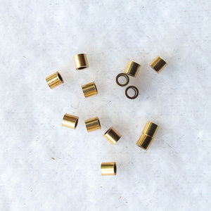 Crimp Beads, 2mm. x 2mm. (click for colors)