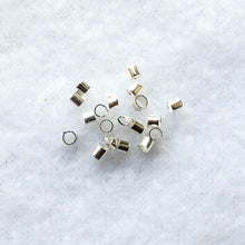 Load image into Gallery viewer, Crimp Beads, 2mm. x 2mm. (click for colors)