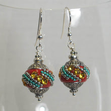 Load image into Gallery viewer, Exotic Bead Earrings (click for colors)