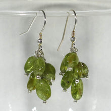 Load image into Gallery viewer, Gemstone Dangle Earrings/Peridot