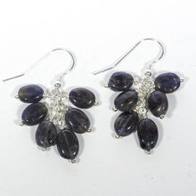 Load image into Gallery viewer, Gemstone Dangle Earrings/Iolite