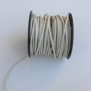 Round Leather Cord, 1.5mm. (click for colors)