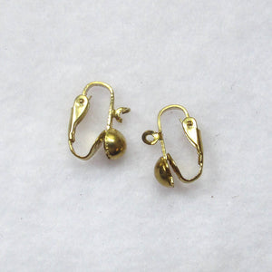 Clip-On, Non-Pierced Earring Findings (click for colors)