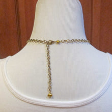Load image into Gallery viewer, 6-Loop, Hand-Shaped, Bead-Wrapped, Wire Loop Necklace with Freshwater Pearls