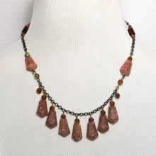 Load image into Gallery viewer, Seven-Arrows Gemstone Necklace