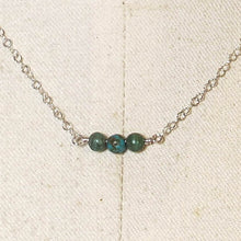 Load image into Gallery viewer, Tiny Gemstone Necklace - Turquoise