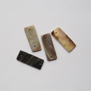 Spacers, Bone, 2-Hole (click for colors)