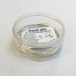 French Wire (click for sizes & colors)