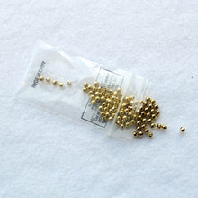 Load image into Gallery viewer, 4mm. Gold-Plated Steel Beads