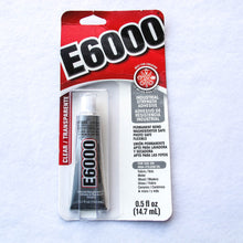 Load image into Gallery viewer, E6000 Industrial Strength Craft Adhesive/0.5 fl oz tube