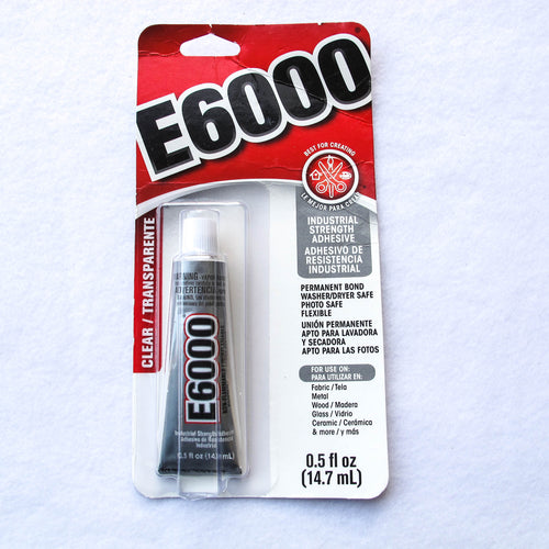 E6000 Industrial Strength Craft Adhesive/0.5 fl oz tube