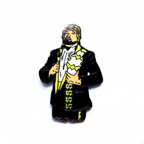 Trillionaire Ted by Bernard Rollins Pin