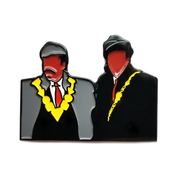Akeem & Semmi by Waking Dream Pin