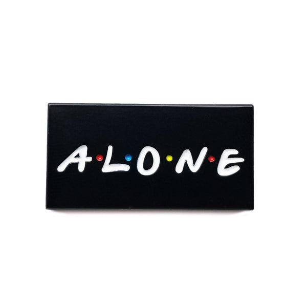 Alone by Fake Handshake Pin