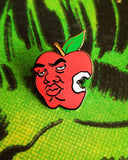 BIG Apple by Bernard Rollins Pin