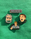 The Nilbog Quartet Pin Set