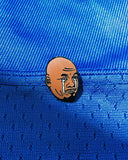 Crying Jordan by Bernard Rollins Pin