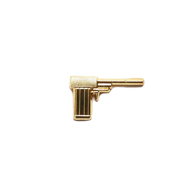 The Golden Gun Pin