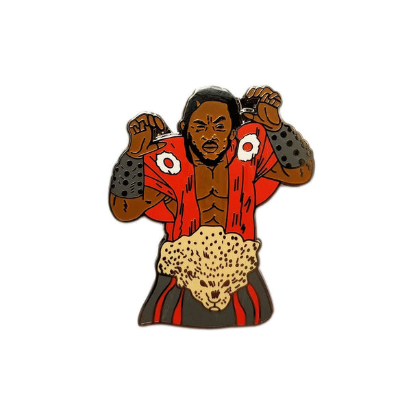Kung Fu Kenny by Bernard Rollins Pin