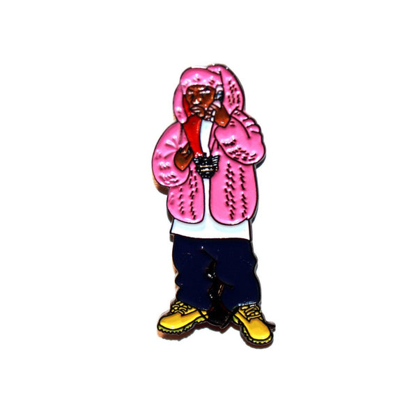 Pink Killa by Bernard Rollins Pin